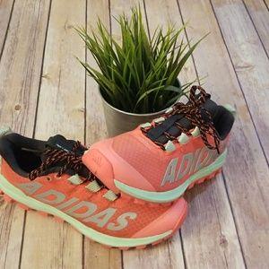 Ladies Adidas running sneakers Pink SZ 6